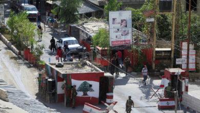 صورة بعد الاشتباكات.. الهدوء يسود مخيم عين الحلوة
