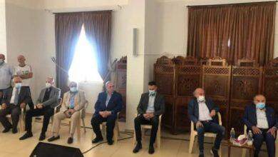 صورة النائب البستاني جال على بلدات شوفية والتقى الاهالي والفعاليات