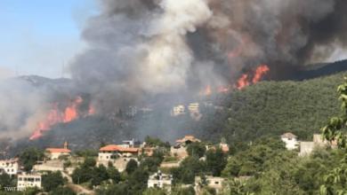 صورة كتانة: ساعدنا 49 شخصاً… والحريق مستمر