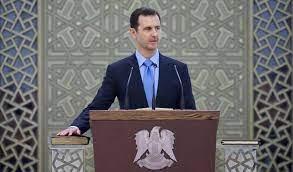 صورة الأسد يؤدي اليمين الدستورية.. وكلمة بحضور شخصيات سياسية وإعلامية