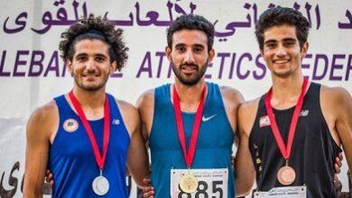 صورة رقمان قياسيان لمارك انطوني ابراهيم ومريم يوسف في بطولة لبنان الإفرادية لألعاب القوى