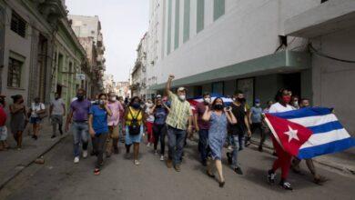 صورة خارجية كوبا: أميركا متورطة بشكل مباشر في تنظيم الاضطرابات