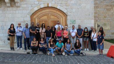 صورة جولة سياحية وثقافية لجمعية التحديث والتطوير التربوي في المتين
