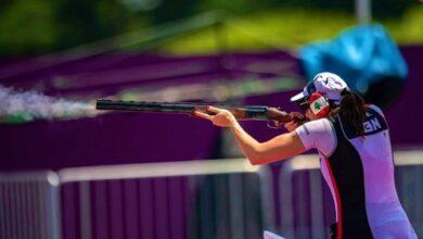 صورة اللبنانية راي باسيل تبقي على آمالها ببلوغ نهائيات أولمبياد طوكيو