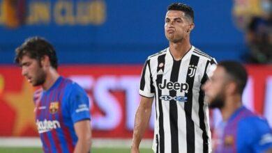 صورة بعد الخسارة امام برشلونة.. هكذا علَق رونالدو