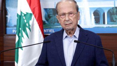 صورة عون: الحكومة ستبدأ بمعالجة هموم اللبنانيين