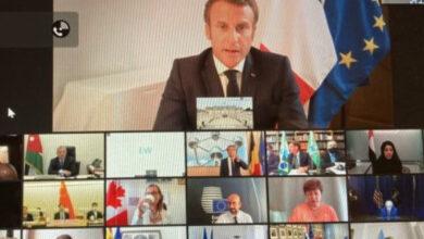 صورة مؤتمر دعم لبنان تابع أعماله وكلمات دعت المسؤولين الى تشكيل حكومة بشكل سريع