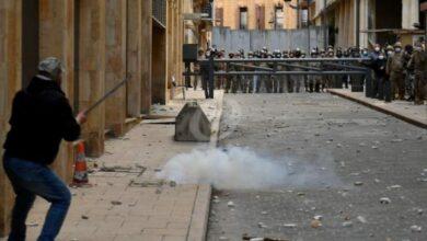 صورة ارتفاع حدة المواجهات عند جريدة النهار