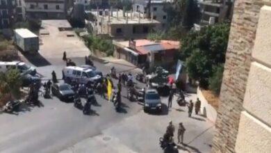 صورة الجيش: إشتباكات في خلدة أثناء تشييع شبلي وسقوط قتلى وجرحى