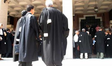 صورة اضراب نقابة المحامين: صَون أم ضرب لكرامة المحامين؟