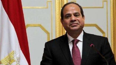 صورة السيسي أكد تمسك مصر بالحفاظ على أمنها المائي