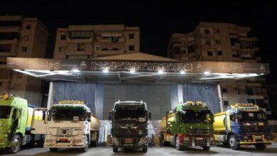 صورة بعد وصولها.. بدء توزيع شاحنات المازوت الإيراني بالضاحية الجنوبية