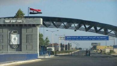 صورة طريق الوفد الوزاري سالكة الى دمشق فعمّان خلال ايام