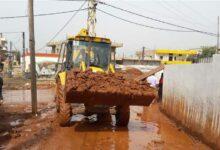 صورة بعد تنظيف مجاري المياه.. وزارة الاشغال تناشد