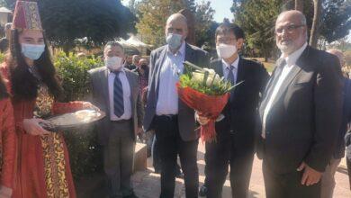 صورة بلدية عنجر حوش موسى باختتام مشروع إنمائي مولته سفارة كوريا