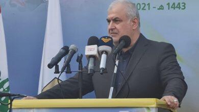 صورة رعد لجعجع : انتم المحرضون لاعدائنا ضدنا