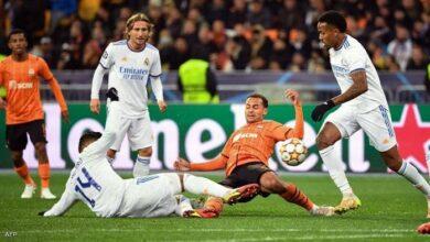صورة ريال مدريد يمطر شاختار بخمسة أهداف في أبطال أوروبا